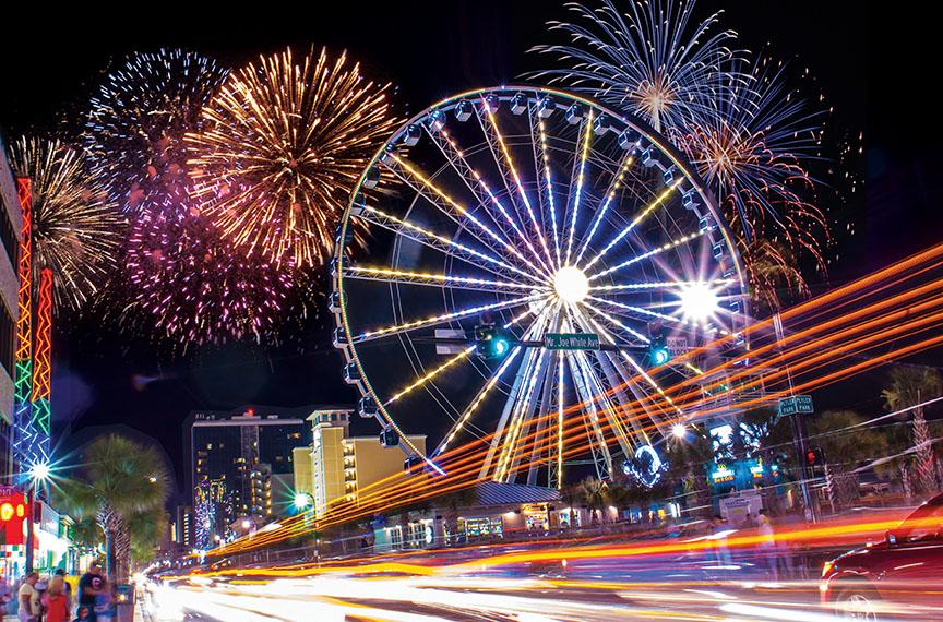 Fireworks In Myrtle Beach On Wednesday