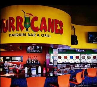 Hurricanes Daiquiri Bar Grill While Strolling Along The Myrtle Beach