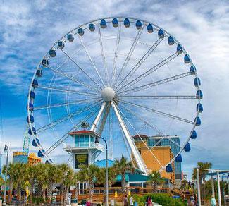 Myrtle Beach Boardwalk Attractions Entertainment